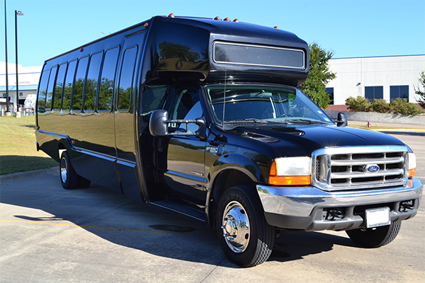 18 Passenger Party Bus Charlotte