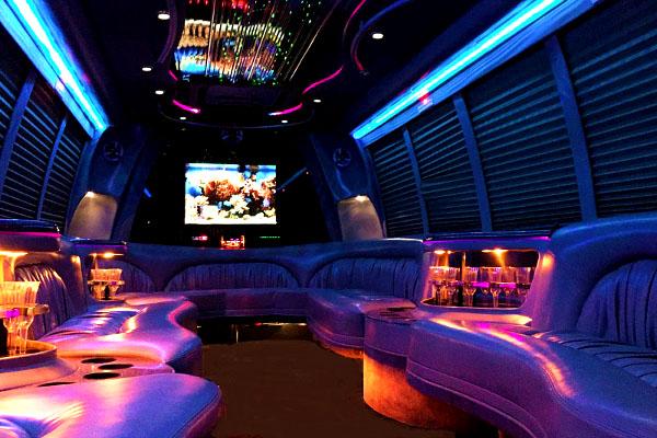 18 Passenger Party Bus Rental Charlotte
