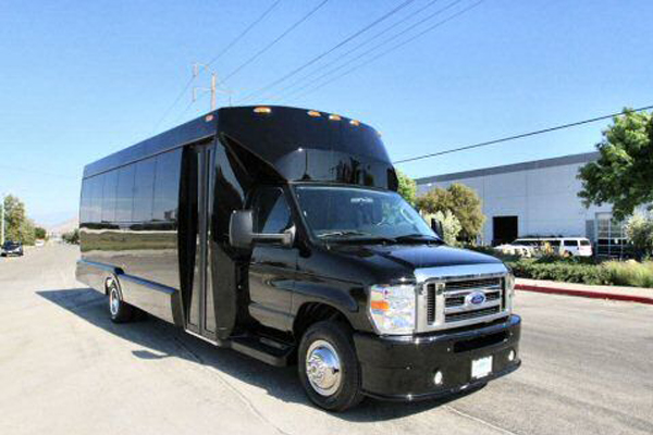 22 Passenger Party Bus Charlotte