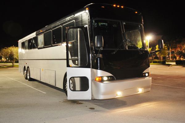 40 Passenger Party Bus Charlotte