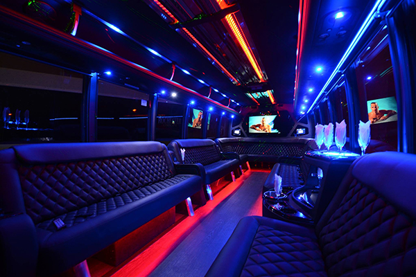40 Passenger Party Bus Rental Charlotte