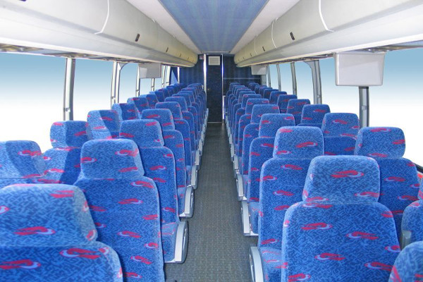 50 Person Charter Bus Rental Charlotte