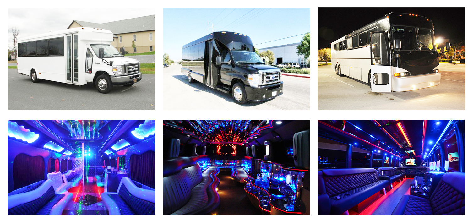Party Buses Charlotte Rentals
