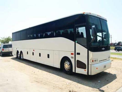 Charlotte 56 Passenger Charter Bus
